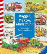 Cover-Bild zu Bagger, Traktor, Müllabfuhr! von Prusse, Daniela