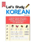 Cover-Bild zu Education, Bridge: Let's Study Korean: Complete Practice Work Book for Grammar, Spelling, Vocabulary and Reading Comprehension With Over 600 Questions