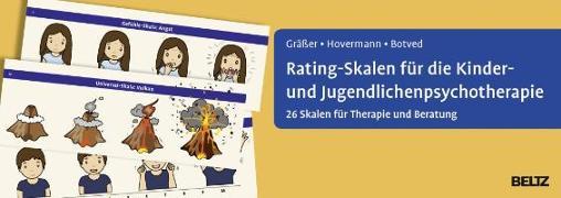 Cover-Bild zu Rating-Skalen für die Kinder- und Jugendlichenpsychotherapie von Gräßer, Melanie