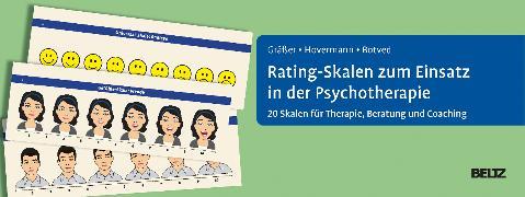 Cover-Bild zu Rating-Skalen zum Einsatz in der Psychotherapie von Gräßer, Melanie