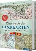Cover-Bild zu Rätselbuch der Landkarten von Kiefer, Philip