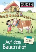 Cover-Bild zu Mein Spiel- und Lernblock 2 - Auf dem Bauernhof von Hagemann, Antje (Illustr.)
