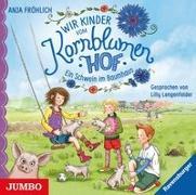 Cover-Bild zu Wir Kinder vom Kornblumenhof 01. Ein Schwein im Baumhaus von Fröhlich, Anja