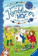Cover-Bild zu Wir Kinder vom Kornblumenhof, Band 4: Eine Ziege in der Schule von Froehlich, Anja