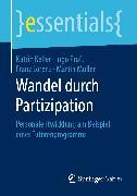Cover-Bild zu Wandel durch Partizipation (eBook) von Keller, Katrin
