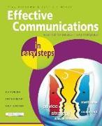Cover-Bild zu Effective Communications in Easy Steps von Vandome, Nick