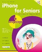 Cover-Bild zu iPhone for Seniors in easy steps, 4th Edition von VANDOME, NICK