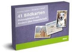 Cover-Bild zu 41 Bildkarten Philosophieren mit Kindern über Freundschaft von Calvert, Kristina