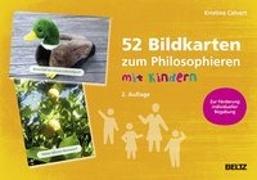 Cover-Bild zu 52 Bildkarten zum Philosophieren mit Kindern von Calvert, Kristina