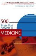 Cover-Bild zu 500 Single Best Answers in Medicine von Dubb, Sukhpreet Singh