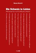 Cover-Bild zu Die Schweiz in Listen von Bertschi, Hannes