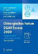 Cover-Bild zu Chirurgisches Forum und DGAV 2009 (eBook) von Schumpelick, Volker (Hrsg.)