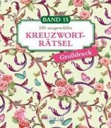 Cover-Bild zu Kreuzworträtsel Deluxe Großdruck Band 15