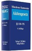 Cover-Bild zu Goette, Wulf (Hrsg.): Bd. 3: Münchener Kommentar zum Aktiengesetz Bd. 3: §§ 118-178 - Münchener Kommentar zum Aktiengesetz