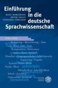 Cover-Bild zu Einführung in die deutsche Sprachwissenschaft von Bergmann, Rolf