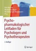 Cover-Bild zu Psychopharmakologischer Leitfaden für Psychologen und Psychotherapeuten von Benkert, Otto (Hrsg.)