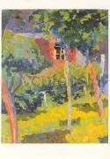 Cover-Bild zu Giacometti, Giovanni (Künstler): Postkarte Fenster im Sonnenschein, um 1915/1916