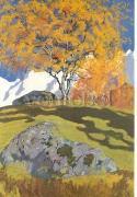 Cover-Bild zu Giacometti, Giovanni (Künstler): Postkarte Herbst, 1903