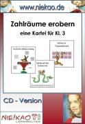Cover-Bild zu Zahlräume erobern - eine anschauliche Kartei für Kl. 3 (eBook) von Kiel, Steffi