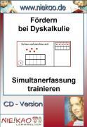 Cover-Bild zu Fördern bei Dyskalkulie - Simultanerfassung trainieren (eBook) von Kiel, Steffi