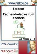 Cover-Bild zu Fordern Rechendreiecke zum Knobeln ab Kl. 2-4 (eBook) von Kiel, Steffi