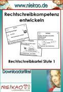 Cover-Bild zu Mit Strategien Schreiben lernen - RS-Kartei 2 (eBook) von Kiel, Steffi
