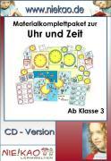 Cover-Bild zu Freiarbeit - Materialpaket zum Erlernen der Uhr (eBook) von Kiel, Steffi