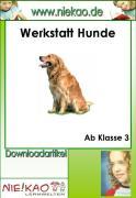 """Cover-Bild zu Werkstatt """"Hunde"""" - kooperatives Lernen (eBook) von Kiel, Steffi"""