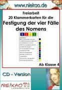 Cover-Bild zu Freiarbeit - Festigung der vier Fälle - Kartei 3 (eBook) von Kiel, Steffi