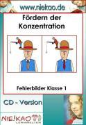 Cover-Bild zu Fördern der Konzentration - Fehlerbilder Kl.1 (eBook) von Kiel, Steffi