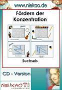 Cover-Bild zu Fördern der Konzentration - Suchsels (eBook) von Kiel, Steffi