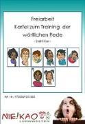 Cover-Bild zu Freiarbeit - Kartei zum Training der wörtlichen Rede (eBook) von Kiel, Steffi