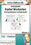 Cover-Bild zu Freiarbeit - Kartei Wortarten - Kompetenzen entwickeln (eBook) von Kiel, Steffi