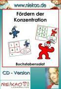 Cover-Bild zu Fördern der Konzentration - Buchstabensalat (eBook) von Kiel, Steffi