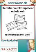 Cover-Bild zu Mit Strategien Schreiben lernen - RS-Kartei 1 (eBook) von Kiel, Steffi