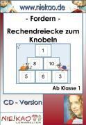 Cover-Bild zu Fordern Rechendreiecke zum Knobeln ab Kl. 1-2 (eBook) von Kiel, Steffi
