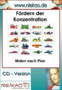 Cover-Bild zu Fördern der Konzentration - Malen nach Plan (eBook) von Kiel, Steffi