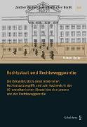 Cover-Bild zu Boller, Marcel: Rechtsstaat und Rechtsweggarantie