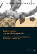 Cover-Bild zu Binder, Anja Martina: Expertenwissen und Verfahrensgarantien