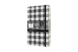 Cover-Bild zu Moleskine Notizbuch - Blend 2021, Large/A5, Liniert, Fester Einband, Karomuster groß