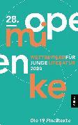 Cover-Bild zu 28. open mike (eBook) von Haus für Poesie (Hrsg.)