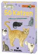 Cover-Bild zu Expedition Natur 50 Katzen von Kessel, Carola von