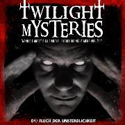 Cover-Bild zu Twilight Mysteries, Folge 1: Fluch der Unsterblichkeit (Audio Download) von Albrodt, Erik