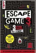 Cover-Bild zu Escape Game 3 HORROR von Prieur, Rémi