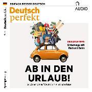 Cover-Bild zu Deutsch lernen Audio - Ab in den Urlaub! (Audio Download) von Wichmann, Anne