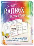 Cover-Bild zu Die bunte Ratebox für SeniorInnen von Lietz, Susanne
