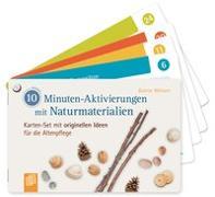 Cover-Bild zu 10-Minuten-Aktivierungen mit Naturmaterialien von Weitzer, Katrin