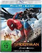 Cover-Bild zu Tom Holland (Schausp.): Spider-Man: Homecoming - 3D Version (2 Disc)