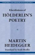 Cover-Bild zu Heidegger, Martin: Elucidations of Holderin's Poetry