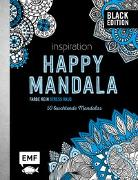 Cover-Bild zu Black Edition: Inspiration Happy Mandala